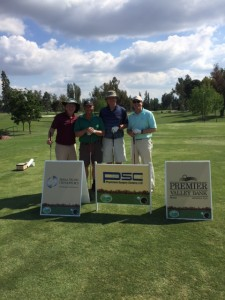 Main sponsors and golfers